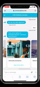 Eksempel på SMS fra logistikkselskap4