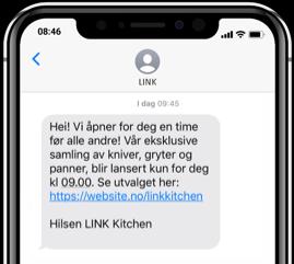 Mobil med SMS