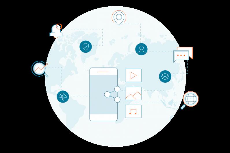 Digitalt kommunikasjonskart