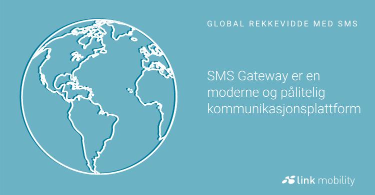 LINK SMS Gateway gir global rekkevidde