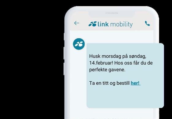 SMS med påminnelse om morsdag